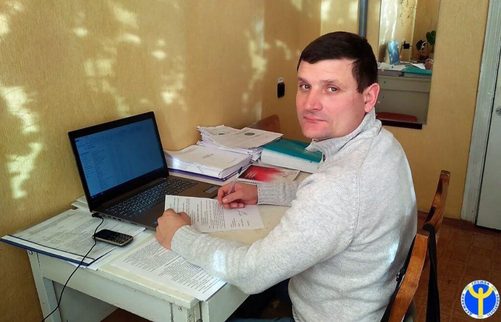 Прес-реліз: Служба зайнятості допомагає знайти роботу людям з інвалідністю. анатолій бахмут, новопсков, працевлаштування, центр зайнятості, інвалідність