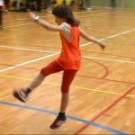 «Потрібно зламати всі стереотипи»: у Києві стартували футбольні тренування для особливих дівчаток (ВІДЕО)