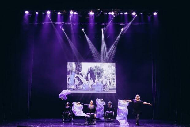 Вінницька «Inclusion in Harmony» – подорожує Україною. inclusion in harmony, вистава, гастролі, інвалідний візок, інклюзія
