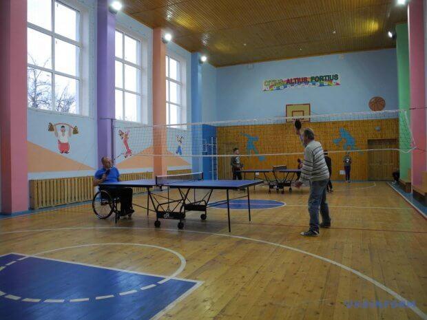 Спорт для всіх або Як на Буковині інклюзію впроваджують. сторожинецька отг, клуб, настільний теніс, інвалідність, інклюзія