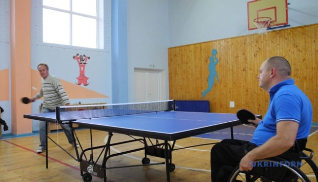 Спорт для всіх або Як на Буковині інклюзію впроваджують (ФОТО, ВІДЕО). сторожинецька отг, клуб, настільний теніс, інвалідність, інклюзія