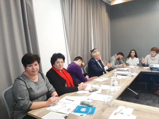 Побудова коаліції: роми та люди з інвалідністю. наіу, коаліція, круглий стіл, роми, інвалідність