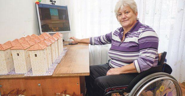 Волинянка-візочниця, на якій лікарі поставили крапку, стала спортсменкою. тетяна білітюк, геріатричний пансіонат, спортсменка, спілкування, інвалідний візок