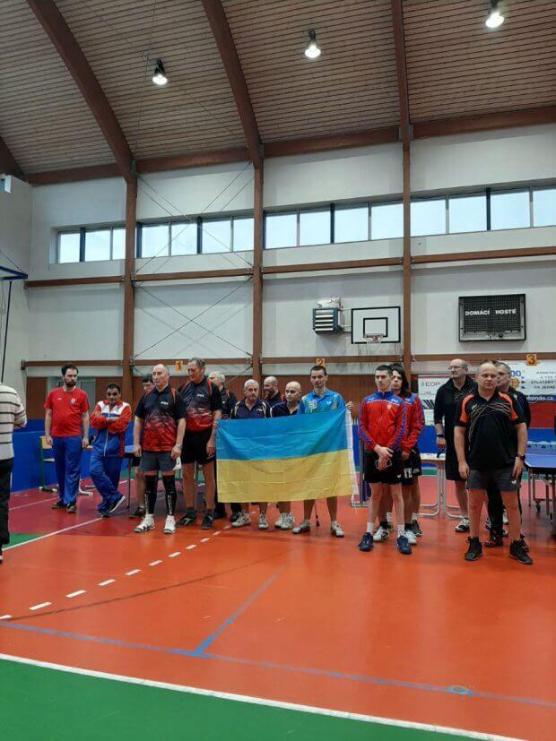 Закарпатські параолімпійці командно перемогли у міжнародному турнірі з настільного тенісу в Чехії. міжнародний турнір, чехія, змагання, настільний теніс, параолімпієць