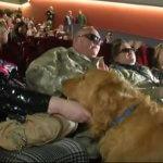 «Вдивляючись у темряву»: в Києві для людей із вадами зору показали документальний фільм про ветерана АТО (ВІДЕО)