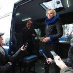 Світлина. Львівщина отримала перший мобільний інклюзивно-ресурсний центр. Навчання, особливими освітніми потребами, послуга, автомобіль, мобільний ІРЦ, Сколівщина