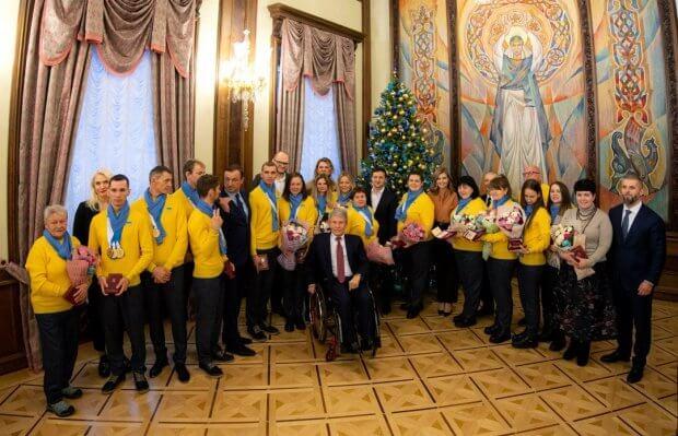 Президент: Дефлімпійці подарували відчуття перемоги всій Україні. володимир зеленський, дефлімпійські ігри, олена зеленська, дефлімпійці, зустріч