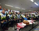 Україна зустріла героїв зимової Дефлімпіади-2019 (ФОТО). дефлімпійські ігри, вади слуху, дефлімпійці, змагання, спортсмен