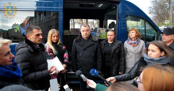 Львівщина отримала перший мобільний інклюзивно-ресурсний центр (ФОТО)