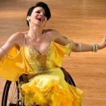 Світлина. «Хотелось вершин достигать»: история знаменитой пары танцоров на инвалидных колясках из Славянска. Інтерв'ю, инвалидная коляска, соревнование, танець, танцор, Керничные