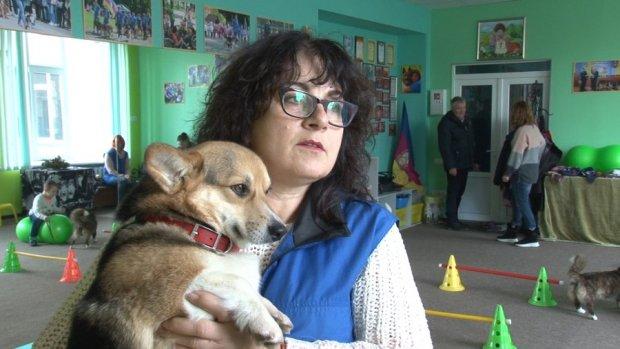 Черкаські кінологи хочуть створити центр реабілітації. центр реабілітації, черкаси, канистерапия, кінолог, собака