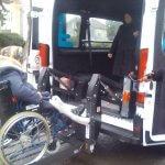 Світлина. Новострілищанська громада отримала спеціалізований автомобіль для перевезення людей з інвалідністю. Безбар'ерність, інвалідність, соціальне таксі, послуга, перевезення, Новострілищанська ОТГ