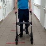 Перші кроки після поранення Андрія Бадарака - учасника Ігор Нескорених (ВІДЕО)