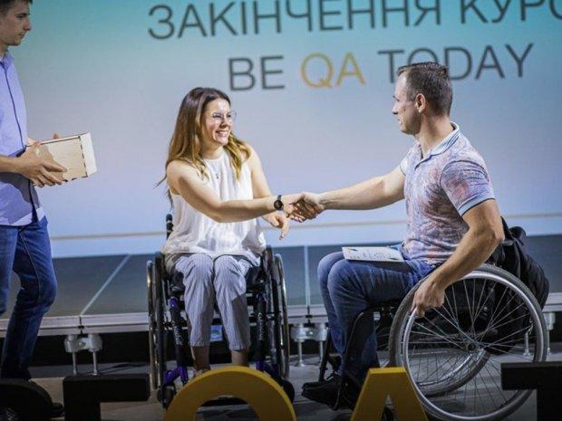 ІТ-освіта для людей з інвалідністю: як працює проєкт BeQA. іт-освіта, юлія ресенчук, проєкт be qa today, тестування, інвалідність