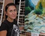 В Днепре прошла первая выставка художницы-любительницы Юлии Кириченко. днепр, юлия кириченко, выставка, гемодіаліз, художница-любительница