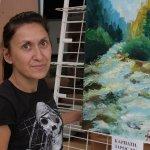 В Днепре прошла первая выставка художницы-любительницы Юлии Кириченко