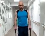 Перші кроки після поранення Андрія Бадарака – учасника Ігор Нескорених (ВІДЕО). андрій бадарак, боєць, ветеран, поранення, інвалідний візок
