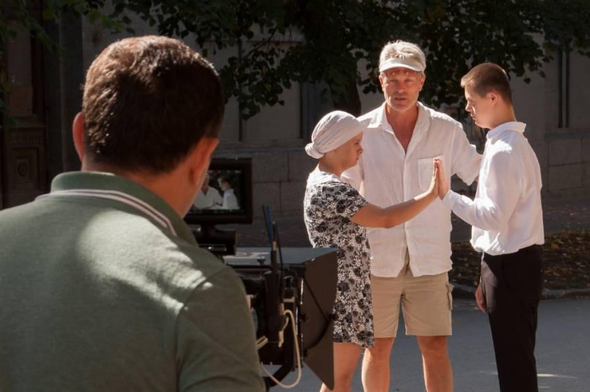 Харківський підліток із синдромом Дауна знявся в кіно (ФОТО)