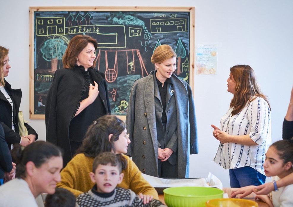 Олена Зеленська ознайомилася з ізраїльською системою соціалізації дітей з інвалідністю. ізраїль, олена зеленська, соціалізація, інвалідність, інтеграція