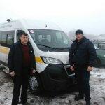 Попасна отримала спеціально обладнаний автомобіль для перевезення осіб з обмеженими фізичними можливостями