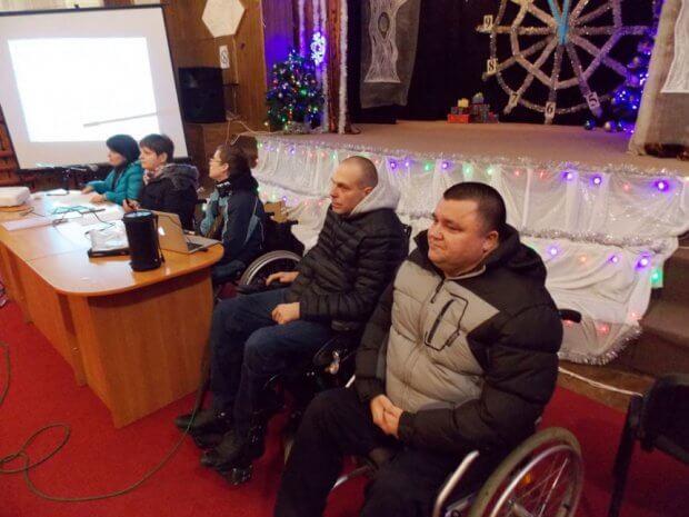 На семінарі в Калуші розвінчували міфи про людей з інвалідністю. калуш, дискримінація, семінар, тренинг, інвалідність
