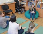 Як самотужки долати стрес вчать у реабілітаційному центрі «Гармонія» (ВІДЕО). вінниця, реабілітаційний центр «гармонія», стрес, тренинг, інвалідність