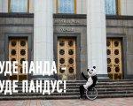 В Киеве панда тестирует пандусы: что известно о проекте (ФОТО, ВИДЕО). доступно.ua, киев, доступность, панда, пандус