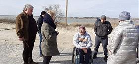 Будет в Сергеевке пляж для спинальников и колясочников