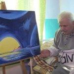 Чоловік, від якого відмовились рідні, пише картини у лікарняній палаті: зворушливе відео
