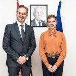 Олена Зеленська та Посол Австрії в Україні обговорили співпрацю у розбудові безбар'єрного середовища