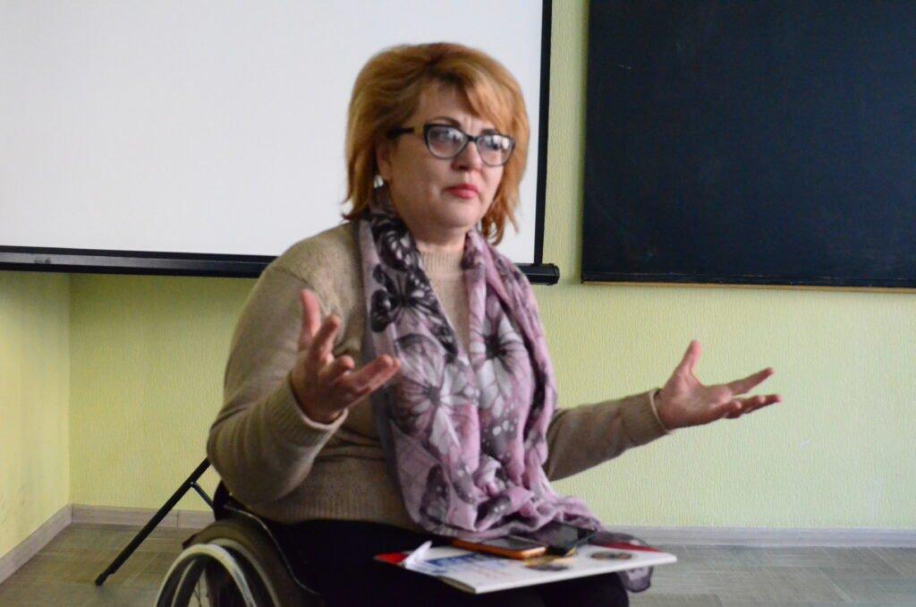 Полтавці обговорили транспортну доступність для осіб з інвалідністю. полтава, воркшоп, доступність, інвалідність, інфраструктура