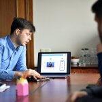 Світлина. У Житомирській ОДА презентували унікальний проєкт для нечуючих людей. Технології, Житомир, порушення слуху, спілкування, меморандум, додаток