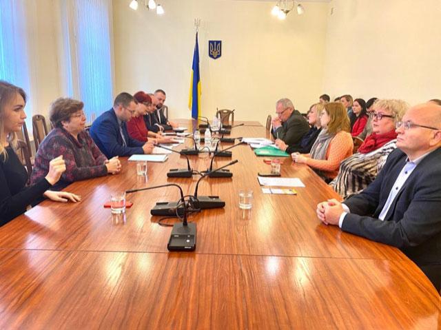 У Комітеті з питань соціальної політики та захисту прав ветеранів відбулася робоча зустріч щодо фінансування громадських об'єднань осіб з інвалідністю. комітет, утог, утос, фінансування, інвалідність
