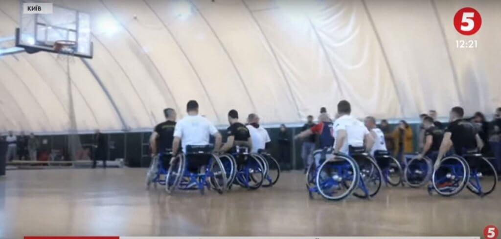 Баскетбольний матч на візках: як українська збірна «Нескорених» підкорює новий вид спорту (ВІДЕО). ігри нескорених, баскетбол на візках, ветеран, змагання, тренування