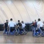 Баскетбольний матч на візках: як українська збірна «Нескорених» підкорює новий вид спорту (ВІДЕО)