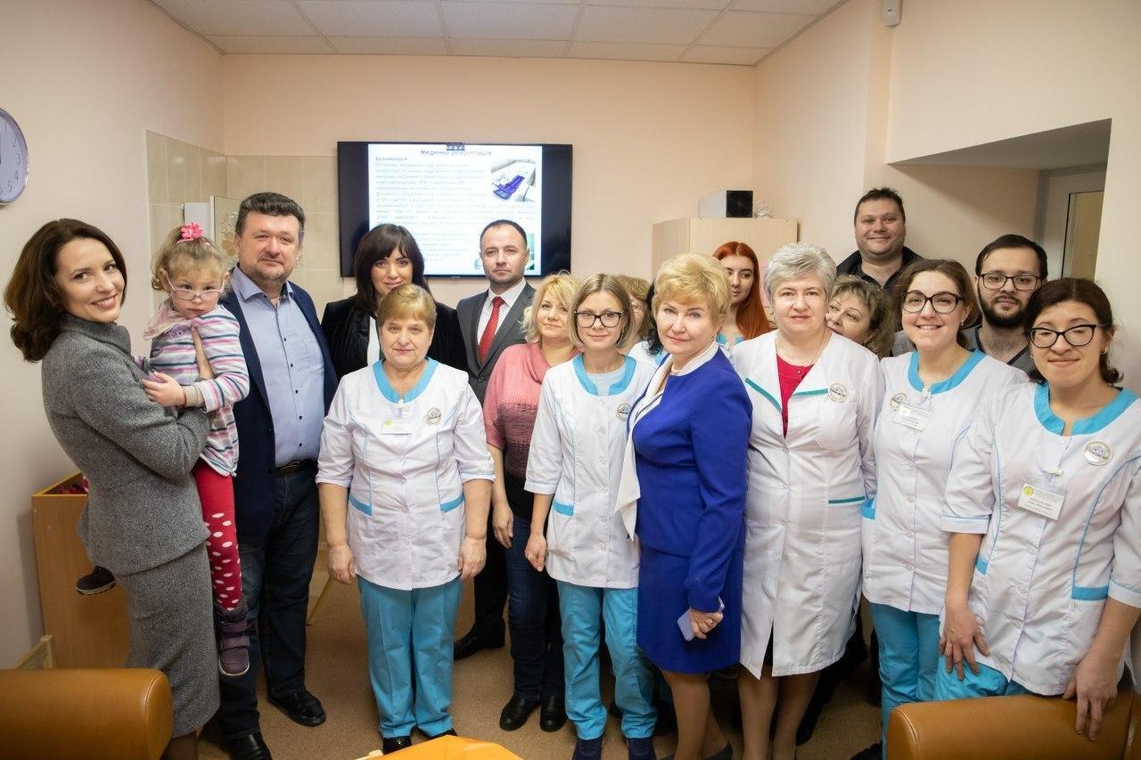 У Дарницькому районі відкрили відділення реабілітації для дітей із ДЦП (ФОТО)