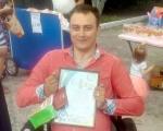 Віктор Жгутов із Кременця майже 10 років живе із травмою, яка перевернула усе його життя. віктор жгутов, суспільство, травма, інвалідний візок, інвалідність