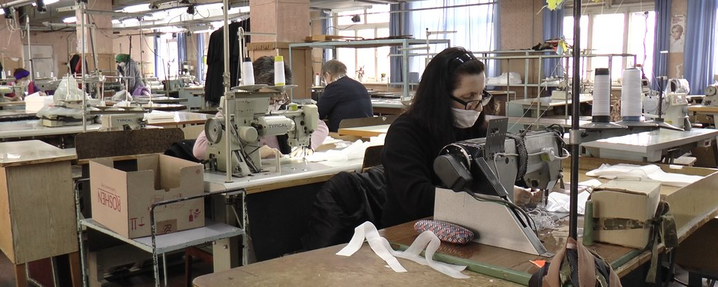 У Франківську люди з інвалідністю шитимуть маски вищої категорії захисту (ВІДЕО)
