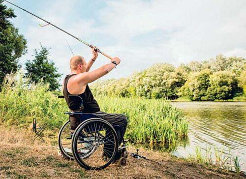 Колективні полювання на візках. андрій щербацький, змагання, полювання, риболовля, інвалідність