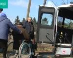 Соціальне таксі для людей з інвалідністю у Жданівській ОТГ, що на Вінниччині (ВІДЕО). жданівська отг, послуга, соціальне таксі, спецавто, інвалідність