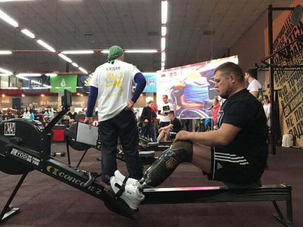 «Игры героев»: в Харькове прошли соревнования среди раненых воинов АТО и ООС. игры героев, харьков, воин, раненый, соревнования