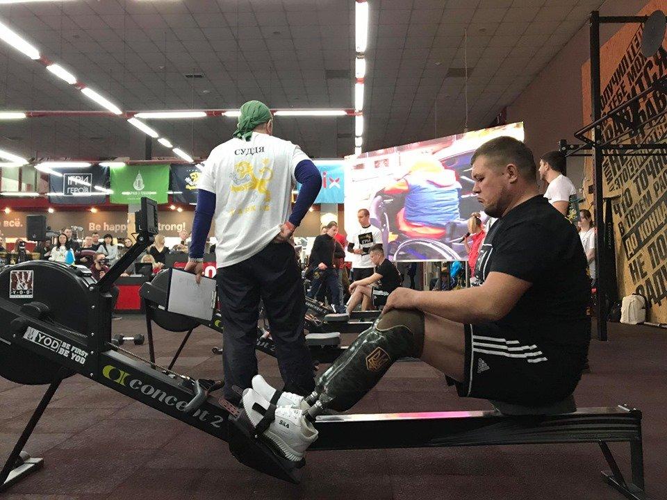 «Игры героев»: в Харькове прошли соревнования среди раненых воинов АТО и ООС (ФОТО, ВИДЕО)