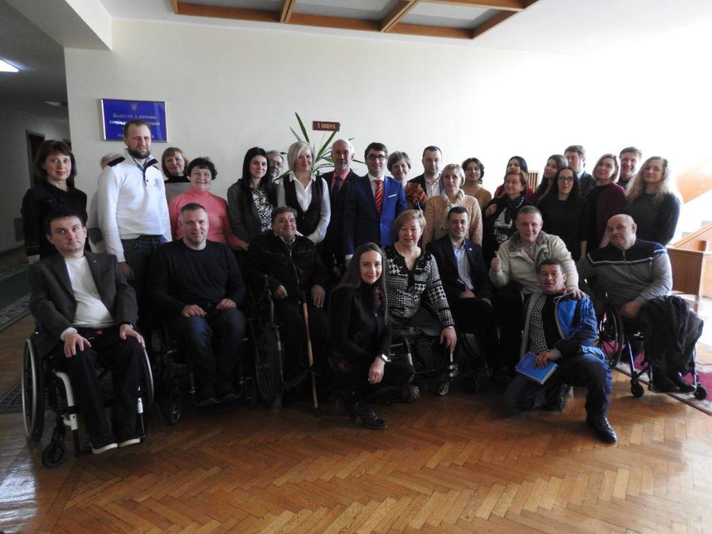 Нова інклюзивна платформа для осіб з інвалідністю. комітет вру, круглий стіл, суспільство, інвалідність, інклюзивність