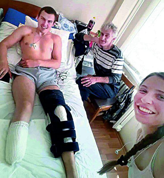 """Вінничанин Роман Кашпур через пів року після важкої травми на фронті, виборов перше місце на """"Іграх Героїв 2020"""". ігри героїв, роман кашпур, ветеран, змагання, травма"""