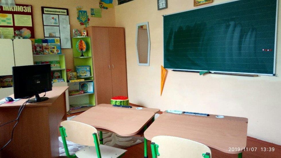 У Пульмівській школі для соціалізації дітей з особливими освітніми потребами облаштували ресурсну кімнату