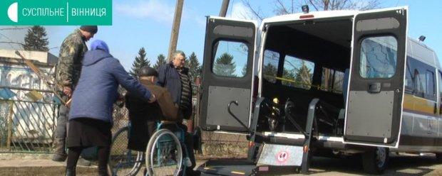 Соціальне таксі для людей з інвалідністю у Жданівській ОТГ, що на Вінниччині. жданівська отг, послуга, соціальне таксі, спецавто, інвалідність