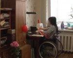 Черкащанка з інвалідністю шиє косметички (ФОТО, ВІДЕО). наталія давиденко, косметичка, травма, швачка, інвалідність