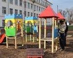 У ЗНЗ №2 встановлюють ігровий майданчик для дітей з особливими потребами. знз №2, олександрія, особливими освітніми потребами, проект, ігровий комплекс