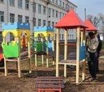 У ЗНЗ №2 встановлюють ігровий майданчик для дітей з особливими потребами