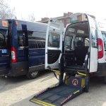 У Хмельницькому з'явилося соціальне таксі для дітей на візках (ФОТО)